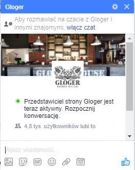 gloger facebook