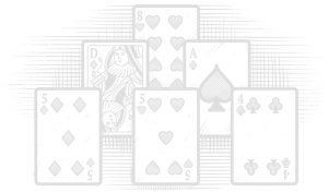 karty na stół tło