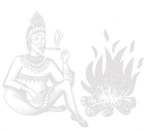 szaman tło