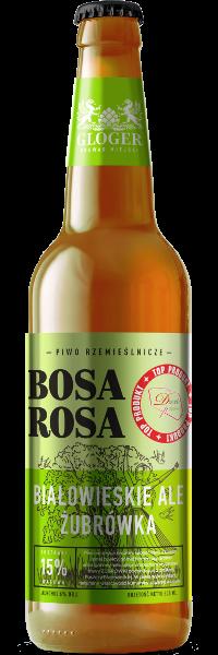 bosa rosa nowa butelka