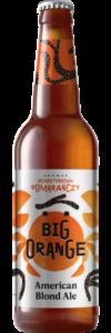 dzika pomarańcza butelka